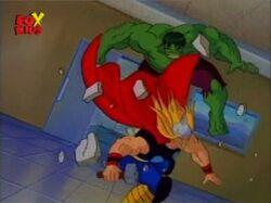 Hulk Thor Enter Hospital