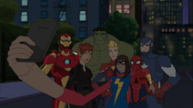 Spider-Man 2017 and The Avengers AA