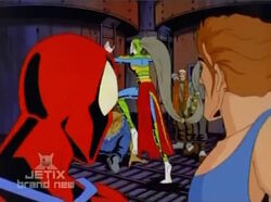 Spider-Man John Watch Vermin Flee