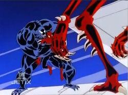 Venom Carnage Trap Spider-Man Solaris One