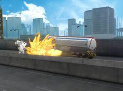 Dynamo Blows Up Iron Man IMAA