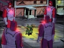 Sentinels Surround Humans DoFP