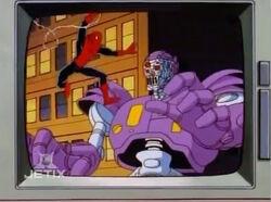 Spider-Man Robot Fight News Footage