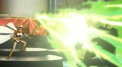Amora Blasts Hulk HV