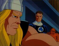 Thor Hates Galactus