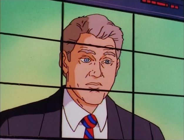 Image result for Bill Clinton marvel comics