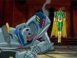 Vision Defeats Ultron