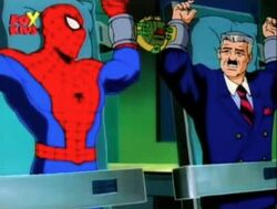 Spider-Man Jameson Forgot to Deliver Alistairs Paper