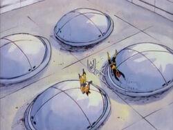 X-Men Dropped by Magneto