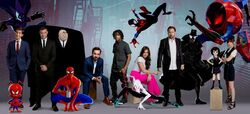 Spider-Man Into the Spider-Verse Voice Cast
