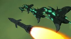 Chitauri Ships Missile UA