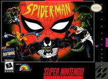 Spider-Man 1995 Video Game Super NES