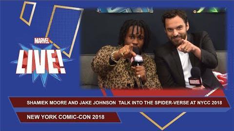 NYCC Spider-Man Into the Spider-Verse Interview