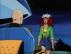 Rogue Meets Xavier