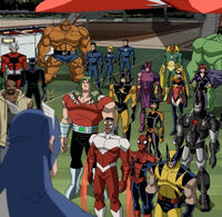 Captain America Addresses Assembled Heroes AEMH
