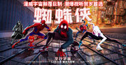 Spider-Man Into the Spider-Verse Second Chinese Character Banner