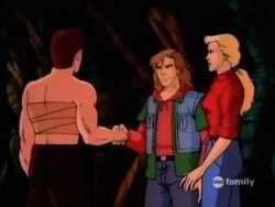 Bruce Rick Shake Hands