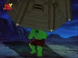 Cage Drops On Hulk