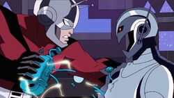 Ant-Man Rips Ultron Heart AEMH