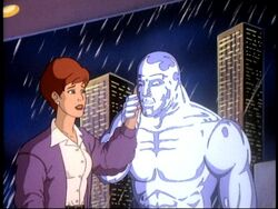 Alicia and Silver Surfer meet again
