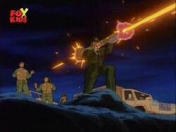 Glenn Fires Bazooka