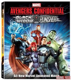 Avengers Confidential Black Widow Punisher DVD