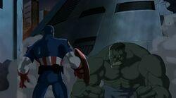 Hulk Threatens Cap UA
