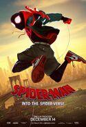 Spider-Man Into the Spider-Verse Spider-Miles Poster