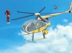 Iron Man Newscopter Second Encounter IMAA