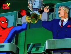 Alistair Attaches Bomb to Jameson Spider-Man