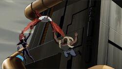 Falcon Catches Black Widow Luke AEMH