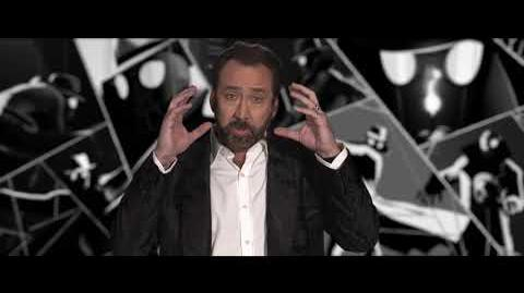 "Nicolas Cage ""Spider-Man Noir"" Interview"