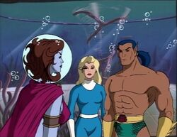 Dorma Confronts Namor