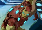 Iron Man Armor Destroyed UA