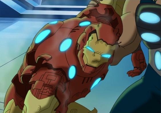 File:Iron Man Armor Destroyed UA.jpg