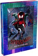 Spider-Man Into the Spider-Verse Amazon Exclusive Blu-Ray