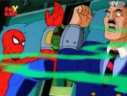 Spider-Man Jameson Tarantula Knock Out Gas