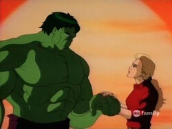 Betty Loves Hulk