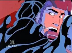 John Attacked by Symbiotes