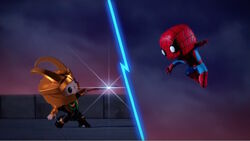 Loki vs Spider-Man SBD