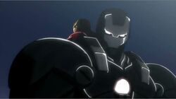 War Machine Iron Man IMRT