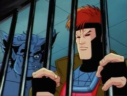 Gambit Wants Out Cell