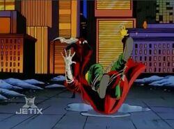 Spider-Man Trips Git