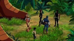Avengers Surround Panther UA2