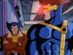 Cyclops First Threatens Logan