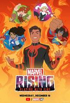 Marvel Rising Playing With Fire Poster