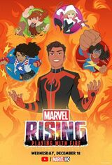 Marvel Rising: Playing with Fire (Video)