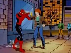 Woman Pepper Sprays Spider-Man