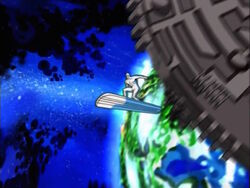 Silver Surfer Leaves Earth