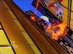 Knights Shoot at Spider-Man